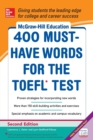 McGraw-Hill Education 400 Must-Have Words for the TOEFL - Book