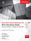 OCA/OCP Oracle Database 12c All-in-One Exam Guide (Exams 1Z0-061, 1Z0-062, & 1Z0-063) - eBook
