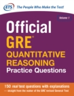Official GRE Quantitative Reasoning Practice Questions - eBook