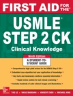 First Aid for the USMLE Step 2 CK, Ninth Edition - eBook