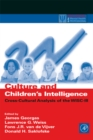 Culture and Children's Intelligence : Cross-Cultural Analysis of the WISC-III - eBook