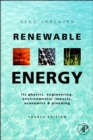 Renewable Energy : Physics, Engineering, Environmental Impacts, Economics and Planning - eBook
