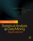 Handbook of Statistical Analysis and Data Mining Applications - eBook