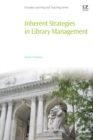 Inherent Strategies in Library Management - Book