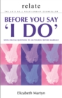 Relate : Seven crucial questions to answer before you say 'I do' - Book
