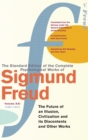 Complete Psychological Works Of Sigmund Freud, The Vol 21 - Book