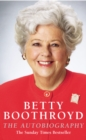 Betty Boothroyd Autobiography - Book