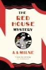The Red House Mystery - Book