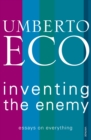 Inventing the Enemy - Book