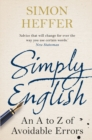 Simply English : An A-Z of Avoidable Errors - Book