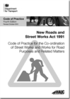 Code of practice for the co-ordination of street works and works for road purposes and related matters - Book