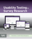 Usability Testing for Survey Research - Book