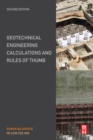 Geotechnical Engineering Calculations and Rules of Thumb - eBook
