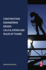 Construction Engineering Design Calculations and Rules of Thumb - eBook