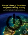 Europe's Energy Transition : Insights for Policy Making - Book
