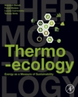 Thermo-ecology : Exergy as a Measure of Sustainability - Book