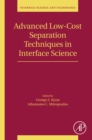 Advanced Low-Cost Separation Techniques in Interface Science - eBook