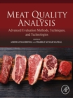 Meat Quality Analysis : Advanced Evaluation Methods, Techniques, and Technologies - eBook