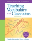 Teaching Vocabulary in All Classrooms - Book