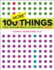100 MORE Things Every Designer Needs to Know About People - Book