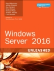 Windows Server 2016 Unleashed (includes Content Update Program) - Book