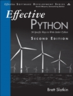 Effective Python : 90 Specific Ways to Write Better Python - Book
