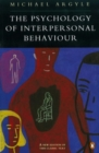 The Psychology of Interpersonal Behaviour - Book