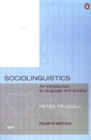 Sociolinguistics : An Introduction to Language and Society - Book