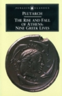 The Rise and Fall of Athens : Nine Greek Lives - Book