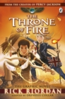 The Throne of Fire: The Graphic Novel (The Kane Chronicles Book 2) - Book