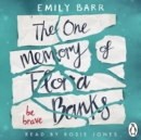 The One Memory of Flora Banks - eAudiobook