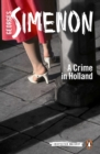 A Crime in Holland : Inspector Maigret #7 - Book