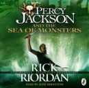 Percy Jackson and the Sea of Monsters (Book 2) - eAudiobook