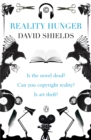 Reality Hunger : A Manifesto - eAudiobook