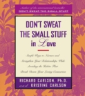 Don't Sweat The Small Stuff In Love - eBook