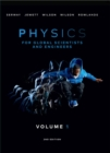 Physics For Global Scientists and Engineers, Volume 1 - Book