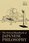 The Oxford Handbook of Japanese Philosophy - eBook