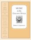 Music in the Galant Style - Book