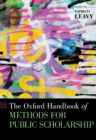 The Oxford Handbook of Methods for Public Scholarship - eBook