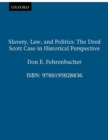 Slavery, Law, and Politics : The Dred Scott Case in Historical Perspective - eBook