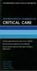 Oxford American Handbook of Critical Care - eBook