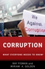 Corruption : What Everyone Needs to Know (R) - Book