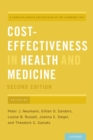 Cost-Effectiveness in Health and Medicine - eBook