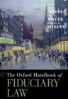 The Oxford Handbook of Fiduciary Law - eBook