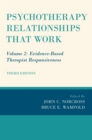 Psychotherapy Relationships that Work : Volume 2: Evidence-Based Therapist Responsiveness - eBook