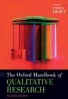 The Oxford Handbook of Qualitative Research - Book
