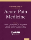 Acute Pain Medicine - eBook