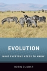 Evolution : What Everyone Needs to Know (R) - Book