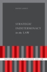 Strategic Indeterminacy in the Law - eBook