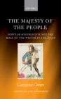 The Majesty of the People : Popular Sovereignty and the Role of the Writer in the 1790s - eBook